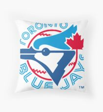 America's Game - Toronto Blue Jays Throw Pillow