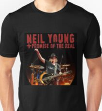 promise of the real concert tour neil young Unisex T-Shirt