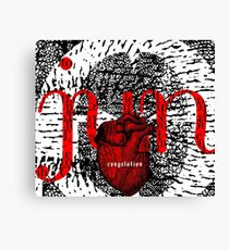 june = congelation Canvas Print