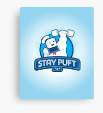Stay Puft!  Canvas Print