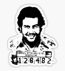 Pablo Escobar Narcos Sticker