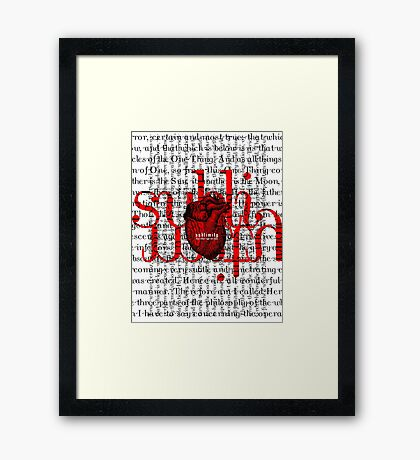 sublimity 2013 Framed Print