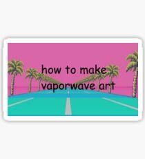 tutorial Sticker