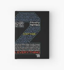 Hitchhiker's Guide 42 Quotes Hardcover Journal