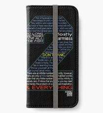 Hitchhiker's Guide 42 Quotes iPhone Wallet/Case/Skin