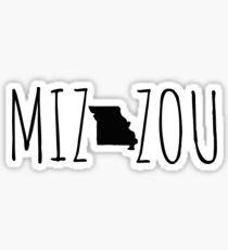 Mizzou Missouri Sticker