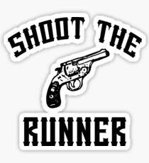 Shoot The Runner - Kasabian  Sticker