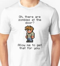 Guide Likes Zombies Unisex T-Shirt
