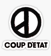 G Dragon Coup Detat Mini Pocket Logo Sticker