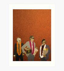 Jack, Francis und Peter Kunstdruck