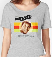 Desmond Dekker Is A Rude Boy Ska Women's Relaxed Fit T-Shirt