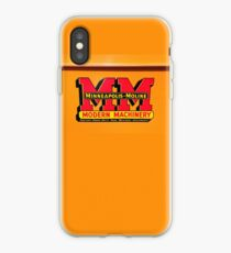 Vintage Modern Machinery iPhone Case