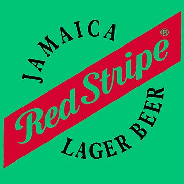 Jamaica Red Stripe Lager Beer by MrHippy