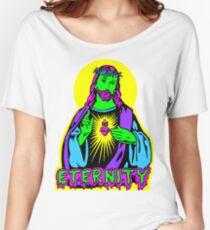 JESUS ETERNITY  Women's Relaxed Fit T-Shirt