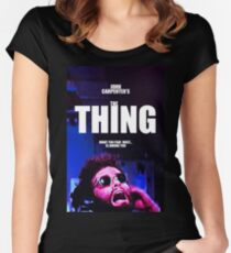 THE THING 11 Women's Fitted Scoop T-Shirt