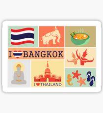 I LOVE BANGKOK Sticker