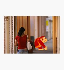 Donkey Kong Spotted Photographic Print