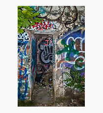 Graffiti Everywhere Photographic Print