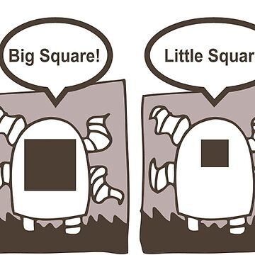 Tentacle Robot Story - Big, Little Square by swissman