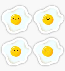 Cute Egg Everywhere Sticker