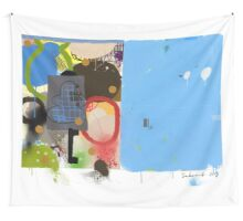 Abstract talk 003 Wall Tapestry