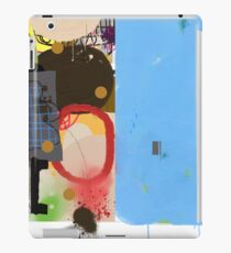 Abstract talk 003 iPad Case/Skin