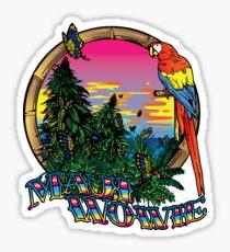Maui Wowie Sticker
