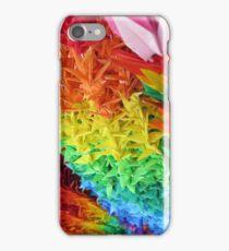 Japanese Rainbow Paper Cranes iPhone Case/Skin