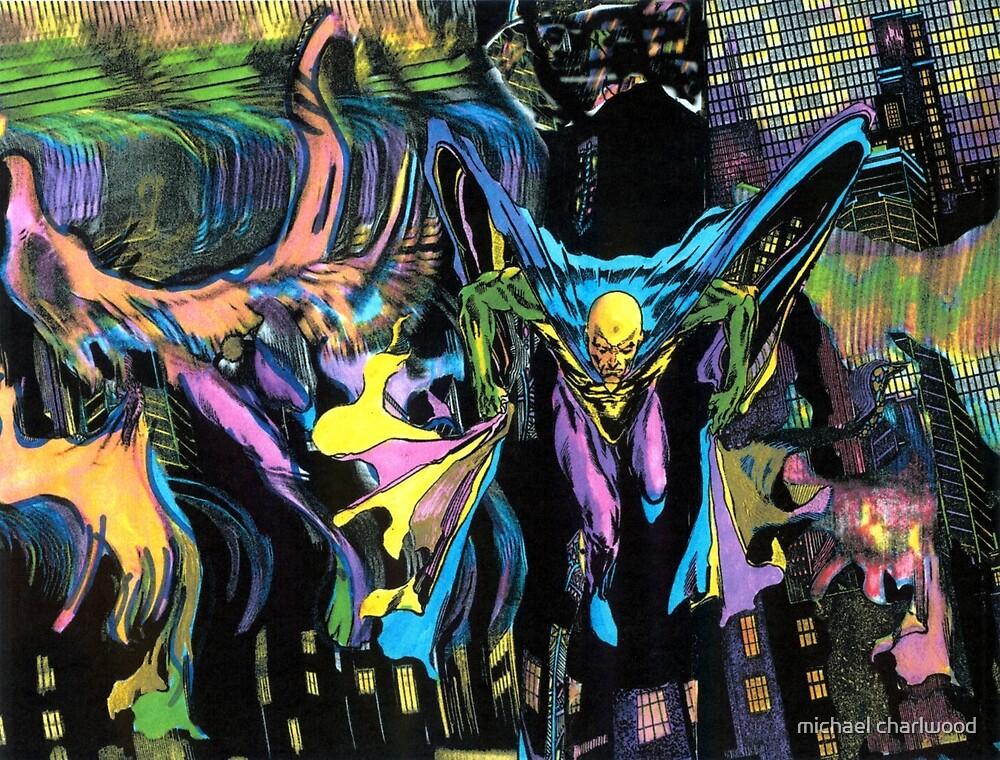 SUPERHERO- bane of the insurance industry by michael charlwood