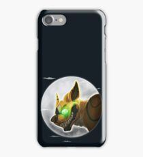 A Figure Over The Moon iPhone Case/Skin