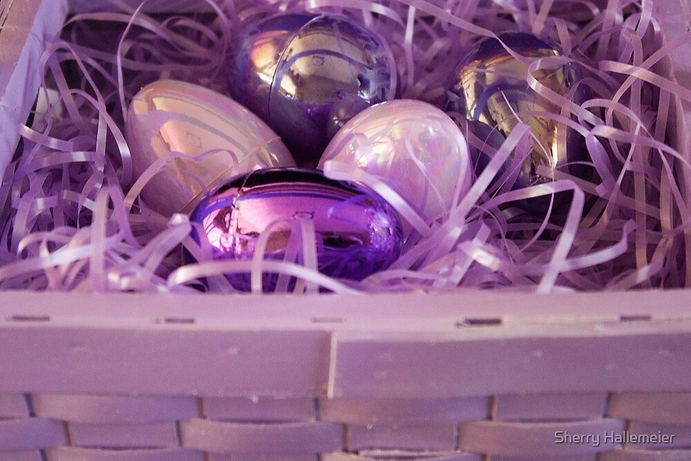 The Purple Easter Basket by Sherry Hallemeier