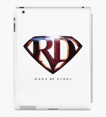 Mare of Steel Logo iPad Case/Skin