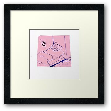 """""""Teen Suicide - Waste Yrself"""" Framed Prints by Cop ..."""