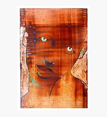 brown boy Photographic Print