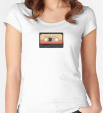 Awesome Mix Vol. 1 Women's Fitted Scoop T-Shirt