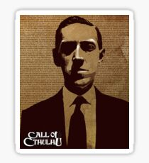 HP Lovecraft - Call of Cthulhu Sticker