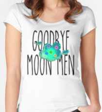 """Rick and Morty"", Moon Men Women's Fitted Scoop T-Shirt"