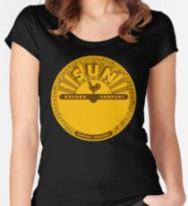 The Vinyl Of Sun Women's Fitted Scoop T-Shirt