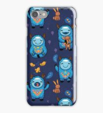 Forest monsters iPhone Case/Skin
