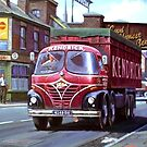Kendricks' Foden coal tipper. by Mike Jeffries