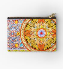 Buddhist Temple Painting Studio Pouch