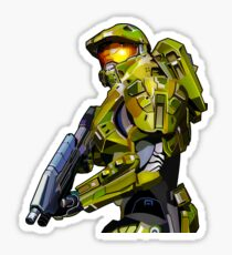 Master chief from Halo Sticker