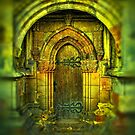 Doorway to Rosslyn Chapel 1. by Dave Harnetty