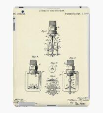 Automatic Fire sprinkler-1888 iPad Case/Skin