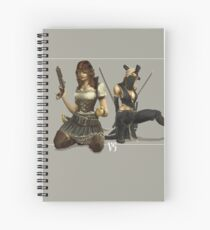 Pirates VS Ninja Spiral Notebook