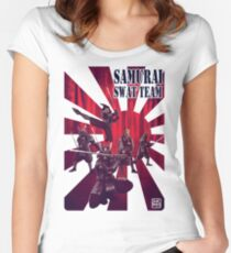 Samurai SWAT Team Women's Fitted Scoop T-Shirt