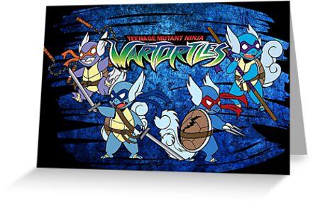 Teenage Mutant Ninja Wartortles by Novanator