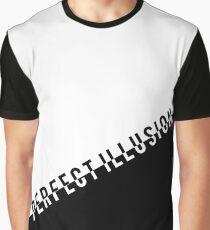 #PerfectIllusion Monochrome Graphic T-Shirt