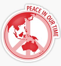 Peace In Our Time Sticker