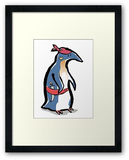 piratenguin by greendeer